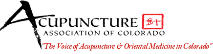 Unity Acupuncture is a member of the Acupuncture Association of Colorado
